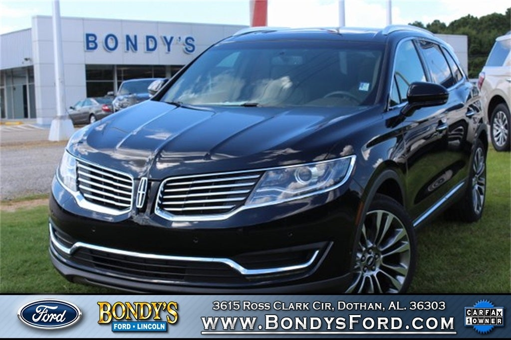 2016 Lincoln MKX Reserve in Dothan, AL | Dothan Lincoln MKX ...